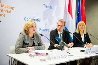 Corina Cretu in Luxemburg